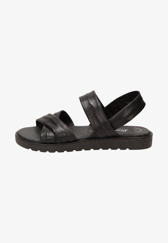 AEROSIKA - Sandalen - schwarz