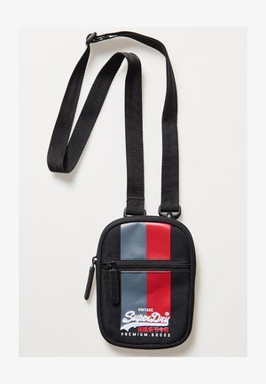 VINTAGE LOGO  - Across body bag - black