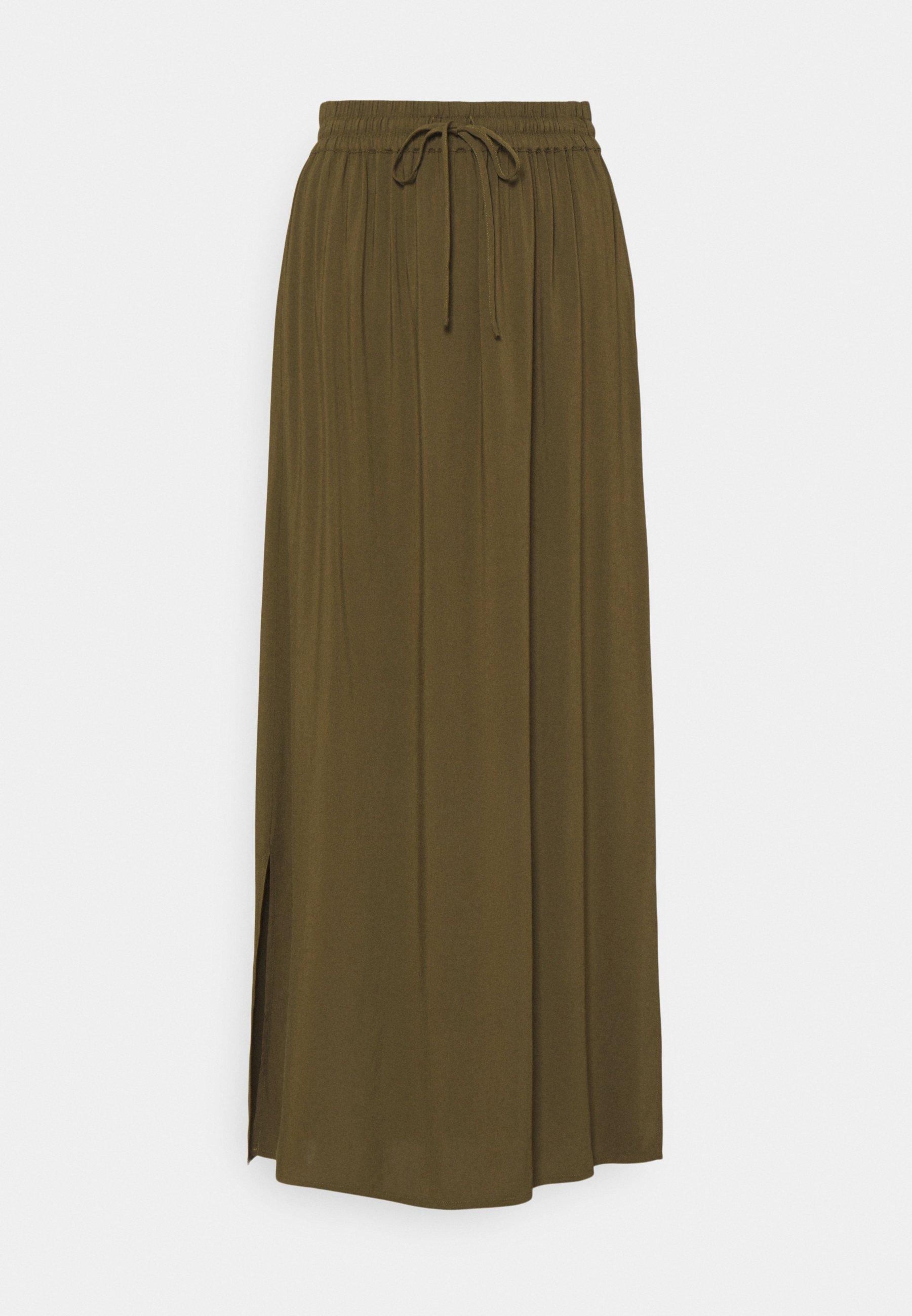Femme VILANA SLIT SKIRT - Jupe longue