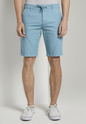 Chinos - two colored sky blue design