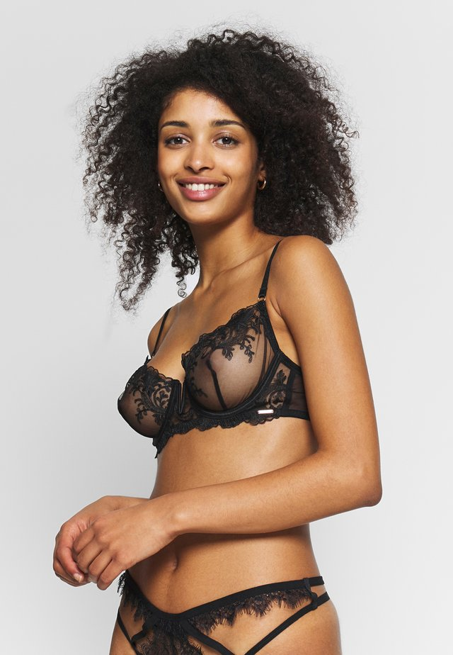 MARSEILLE BRA - Bygel-bh - black