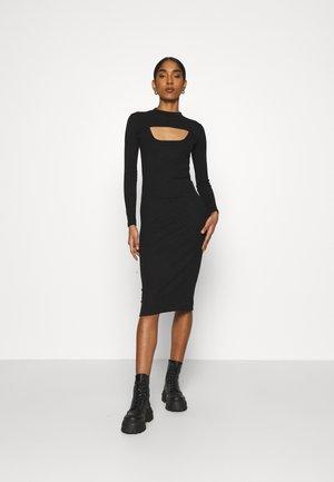 FONTEYN 2-IN-1 - Pouzdrové šaty - black