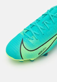 Nike Performance - JR MERCURIAL VAPOR 14 ACADEMY FG/MG UNISEX - Moulded stud football boots - dynamic turqoise/lime glow - 5
