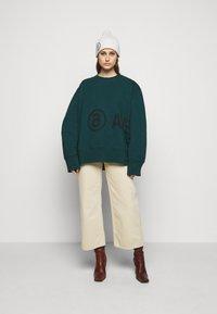 MM6 Maison Margiela - Sweatshirt - duck green - 1