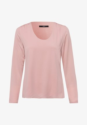 MIT TRANSPARENTEN ÄRMELN - Long sleeved top - misty rose
