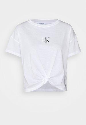 CROPPED - Pyjama top - classic white