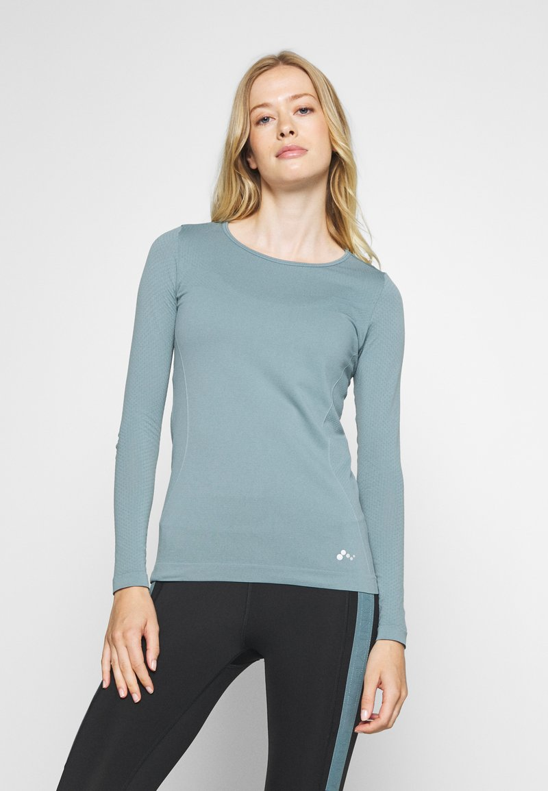 ONLY Play - ONPSTACIA CIRCULAR - T-shirt sportiva - goblin blue