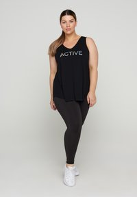 Active by Zizzi - Top - black holo - 1