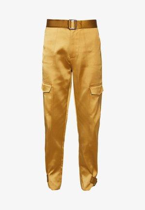 SKUNK - Cargo trousers - gold