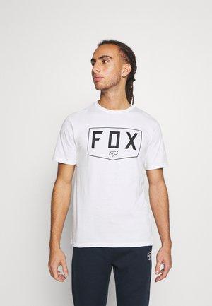 SHIELD PREMIUM TEE - Print T-shirt - white