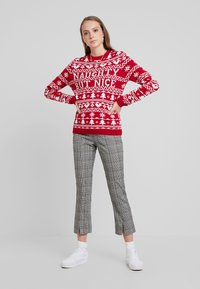 Fashion Union - CHRISTMAS NAUGTHY BUT NICE - Jumper - red - 1