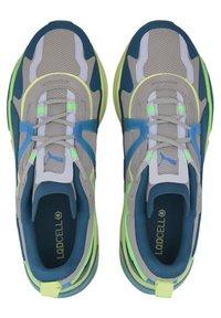 Puma - OPTIC PAX LQDCELL  - Sports shoes - gray violet-nrgy blue - 1
