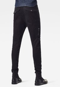 G-Star - FLIGHT CARGO 3D SKINNY - Cargo trousers - dk black - 2