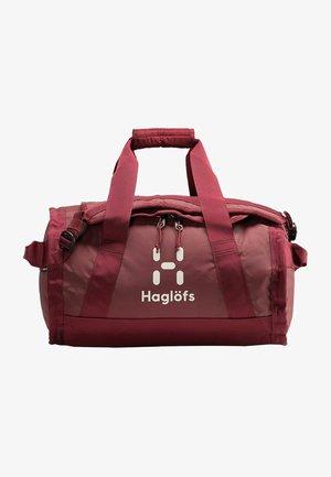 LAVA - Sports bag - light maroon red
