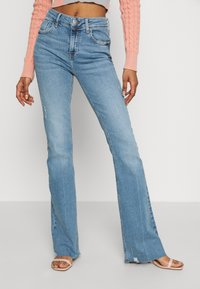 River Island - Flared jeans - light auth - 0
