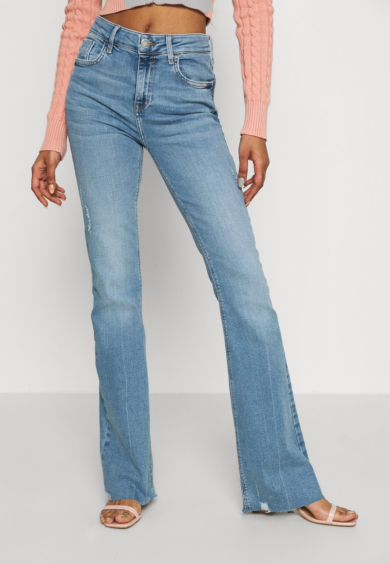 River Island - Flared jeans - light auth