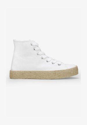 Zapatillas altas - blanco