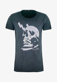 Tigha - WREN - Print T-shirt - vintage black - 4