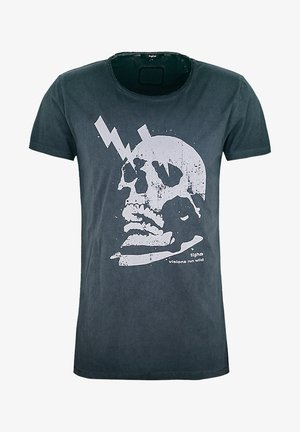 WREN - Print T-shirt - vintage black