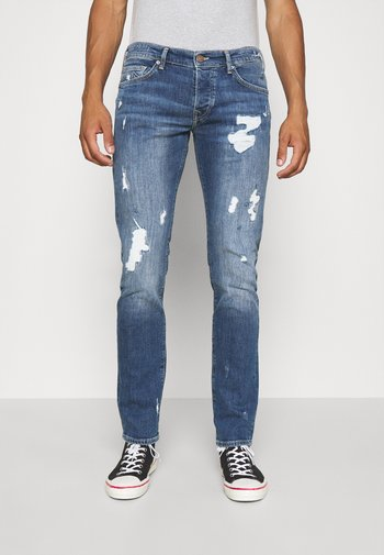 NEW ROCCO DESTROYED - Jeans Tapered Fit - blue