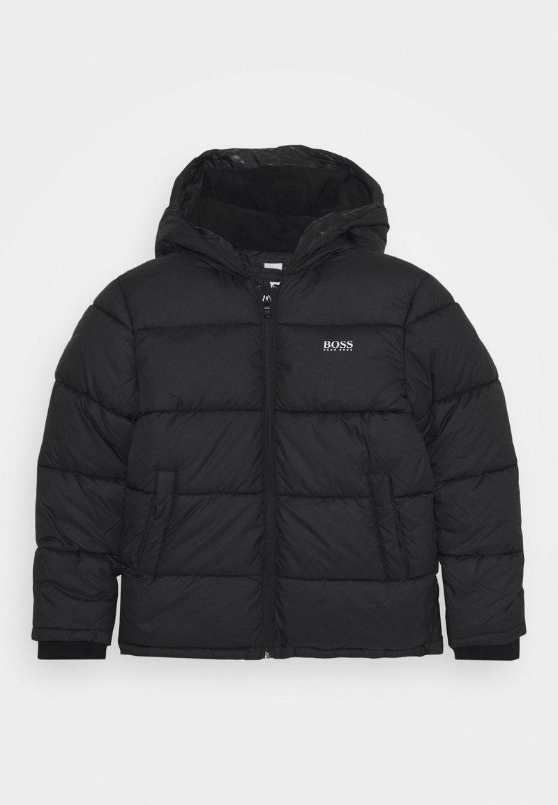 BOSS Kidswear - PUFFER JACKET - Winter jacket - black