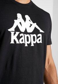 Kappa - CASPAR - T-shirt con stampa - caviar - 4