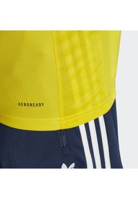 adidas Performance - SWEDEN SVFF HOME JERSEY - Landsholdstrøjer - yellow/indigo - 4