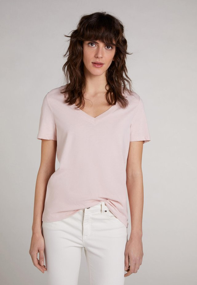 T-shirt basic - peach whip