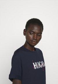 HUGO - NAILY - Maxi dress - dark blue - 3
