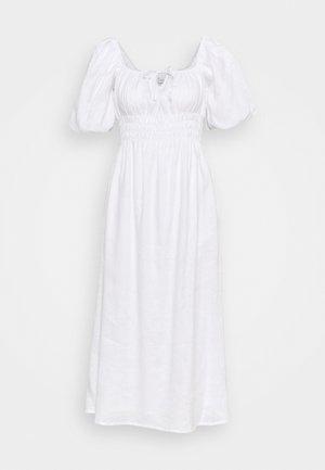 MAURELLE MIDI DRESS - Day dress - plain white