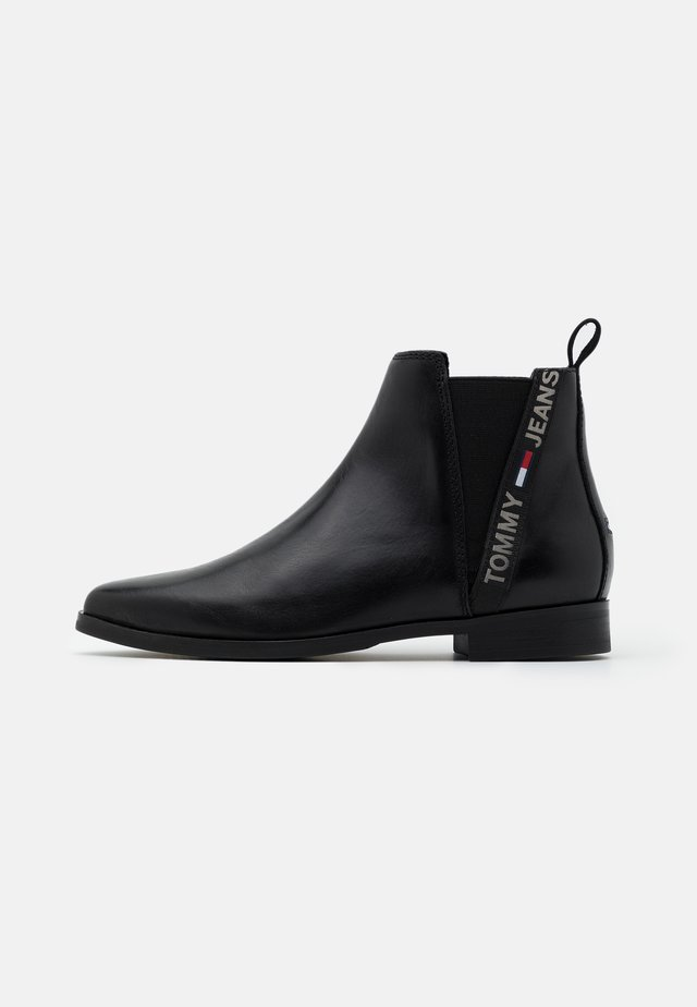ESSENTIAL POINTY CHELSEA - Boots à talons - black