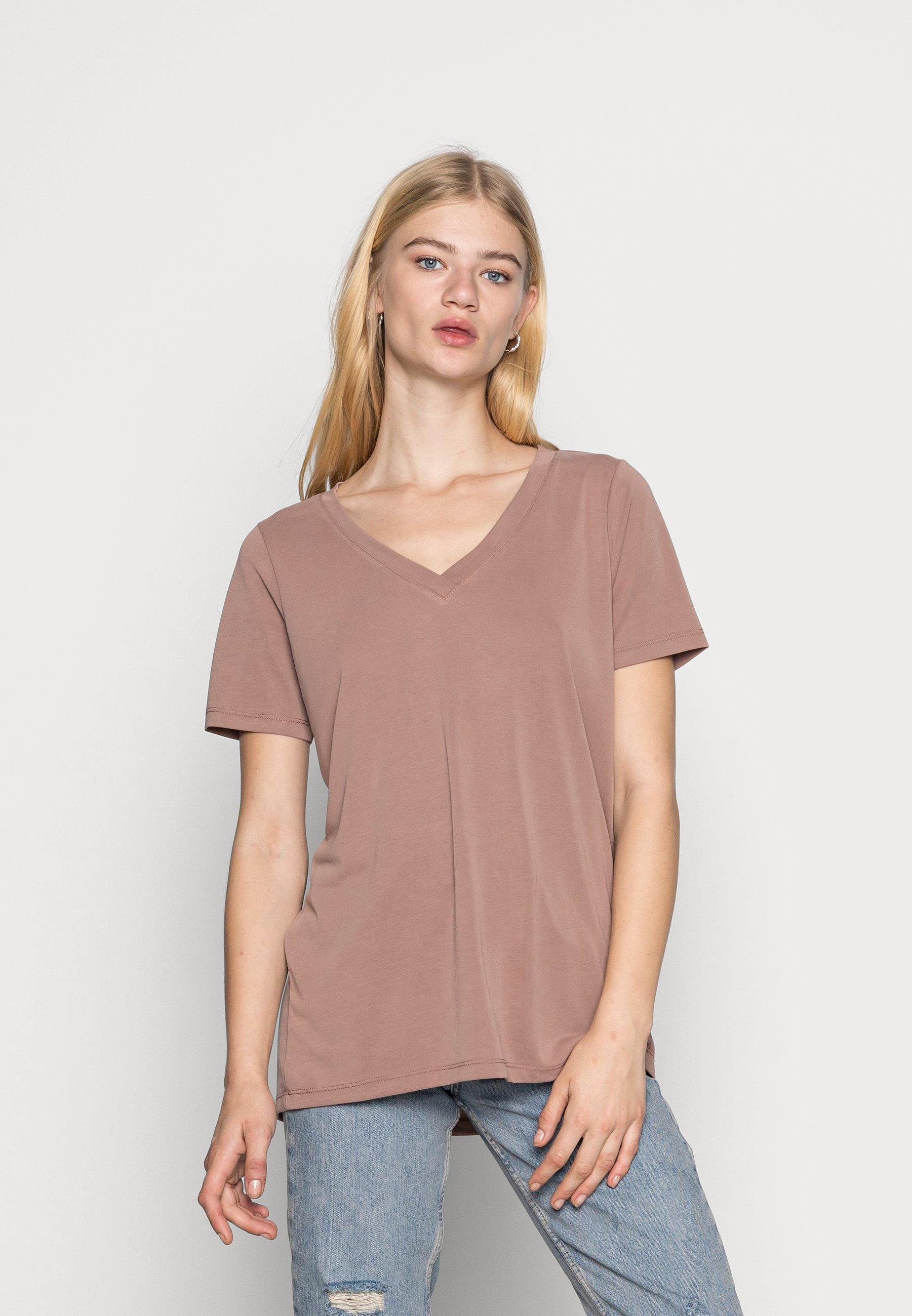 Women COLUMBINE OVERSIZE  - Basic T-shirt