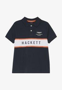 Hackett London - ASTON MARTIN RACING CHEST PANEL - Polo shirt - navy - 2