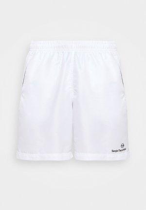 ROB SHORT - Sportovní kraťasy - white/black