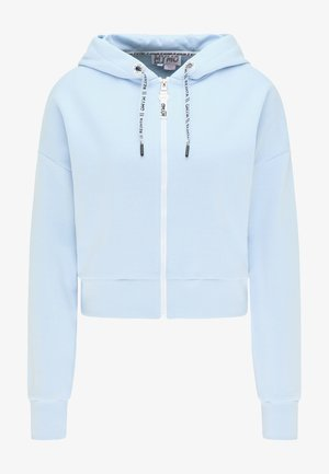 Zip-up sweatshirt - hellblau