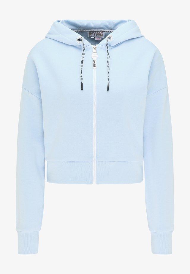 Zip-up hoodie - hellblau