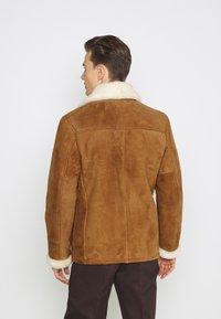 Schott - ARKANSOS - Leather jacket - rust - 2