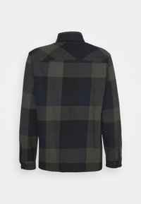 Selected Homme - SLHLOOSEREED CHECK - Shirt - black - 1
