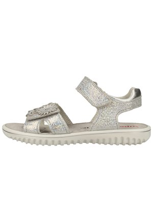 SPARKLE - Sandals - metallic silber 95