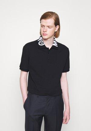 UPPER BODY GARMENT - Koszulka polo - black