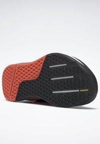 Reebok - NANO X - Chaussures d'entraînement et de fitness - black/white/vivid orange - 7