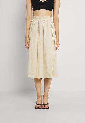 LEILA SKIRT - Pleated skirt - beige