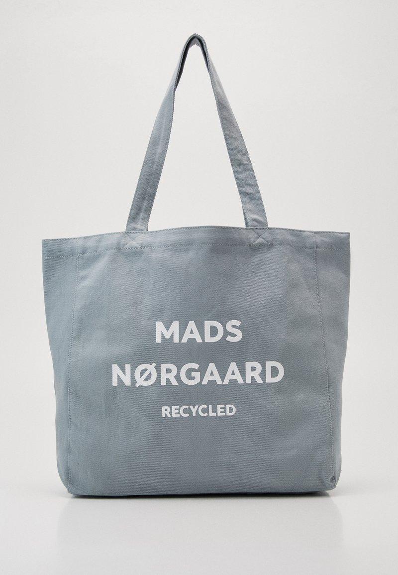 Mads Nørgaard - BOUTIQUE ATHENE - Shoppingveske - grey/white