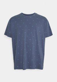 Petrol Industries - Print T-shirt - stone blue - 0