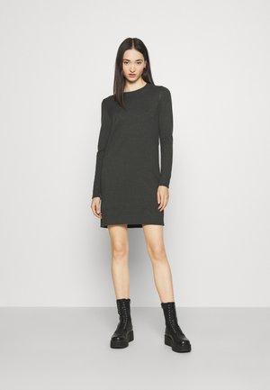 NMPENNY O NECK DRESS - Jumper dress - peat