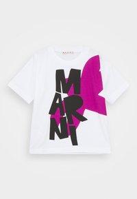 Marni - MAGLIETTA UNISEX - Print T-shirt - white - 0