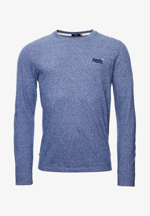 VINTAGE EMB LS  - Long sleeved top - tois blue grit