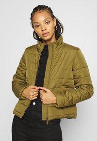 Vero Moda - VMSIMONE  - Light jacket - fir green - 0