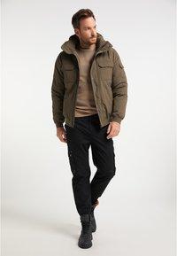 DreiMaster - Winter jacket - militär oliv - 1