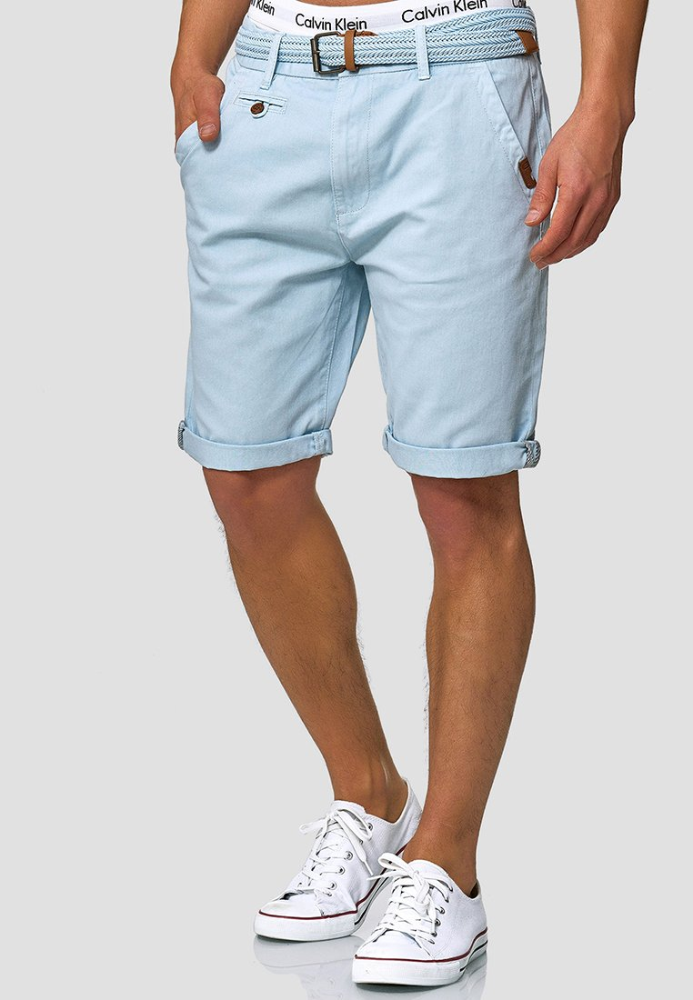 INDICODE JEANS - CASUAL FIT - Shorts - blau palace blue
